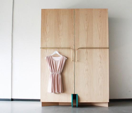 Wandschrank/Garderobe