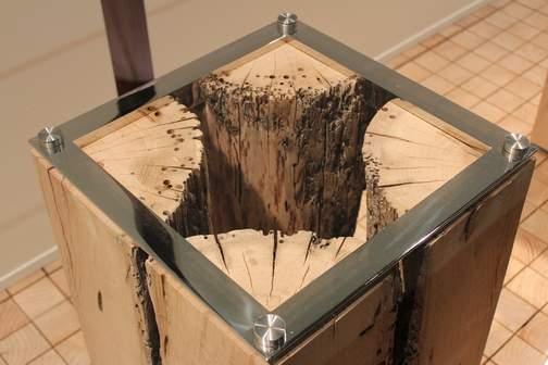 Verwitterter Holz Tisch - Venedig von Riva zeitwerte