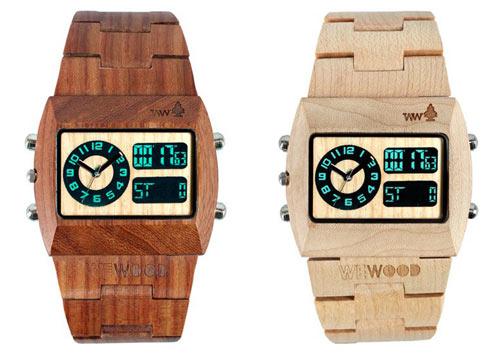 WeWood Holz Uhren