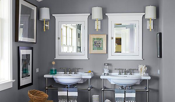 Ein Badezimmer